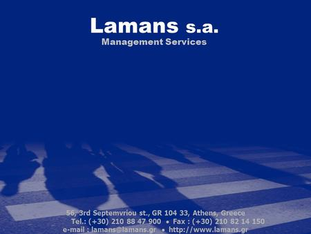 Lamans s.a. Management Services