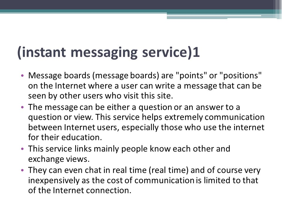 (instant messaging service)2 Skype programs, CU, See me, etc.