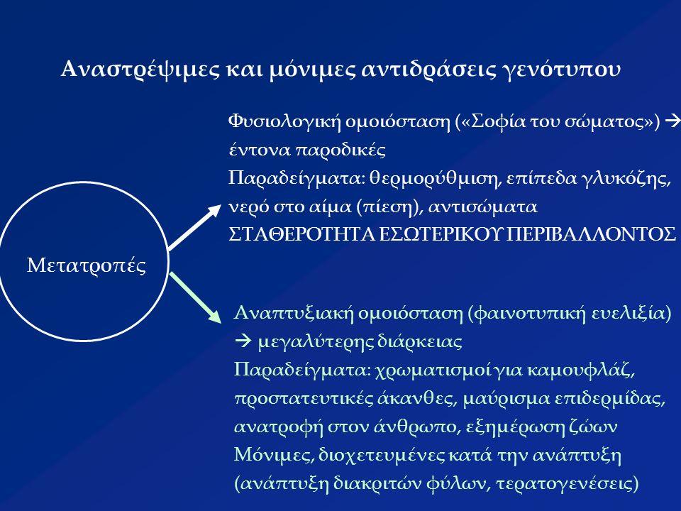 Προβλήματα του νεοδαρβινισμού πως είναι δυνατόν σε μια διαδικασία τόσο βαθμιαία και συνεχή να προκύπτουν απόλυτα διακριτές οντότητες όπως είναι τα είδη; πως είναι δυνατό να ποσοτικοποιηθούν οι εξελικτικοί παράμετροι και να περιγραφούν οι εξελικτικές δυνάμεις; πως να περιγραφούν με μαθηματικές σχέσεις έννοιες όπως η γενετική διαφοροποίηση (εύρεση γενετικών αποστάσεων), τα μεταλλακτικά βήματα, οι γονιδιακές συχνότητες, το μοριακό ρολόι, κ.ά.