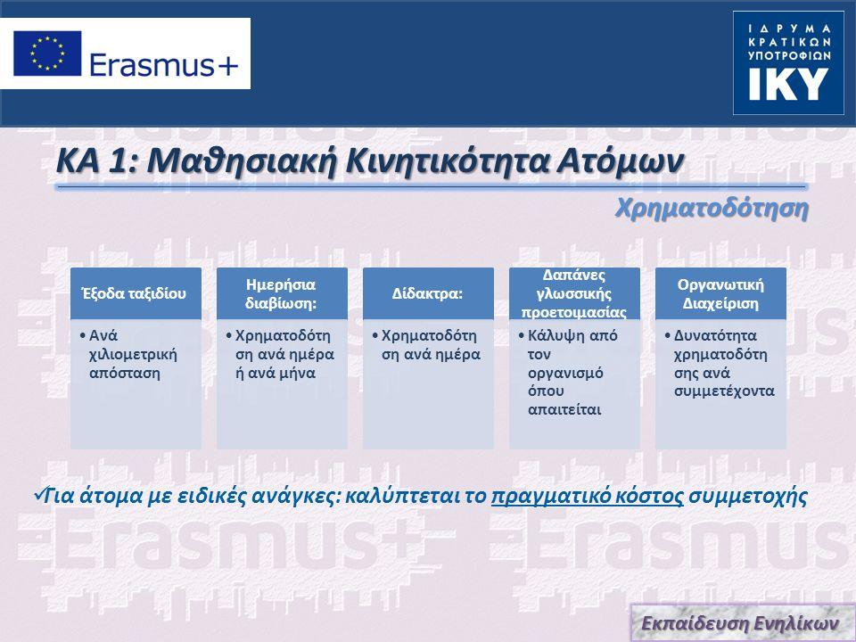 Key Action 2 Στρατηγικές Συμπράξεις Εκπαίδευσης Ενηλίκων