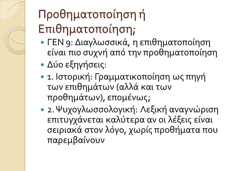Άσκηση Ι Ποια είναι τα χαρακτηριστικά του αναδιπλασιασμού στα ακόλουθα δεδομένα [Agta, Φιλιππίνες, άγνωστης προέλευσης ]; AdanukLongAdadanukVery long AdduManyAdadduVery many ApisiSmallApapisiVery small UffuThighUfuffuThighs LabanPatchLablabanPatches FurabAfternoonFufurabLate afternoon WerCreekWalawerSmall creek PirakMoneyPalapirakA little money PesukPesoPalapesukA mere paso