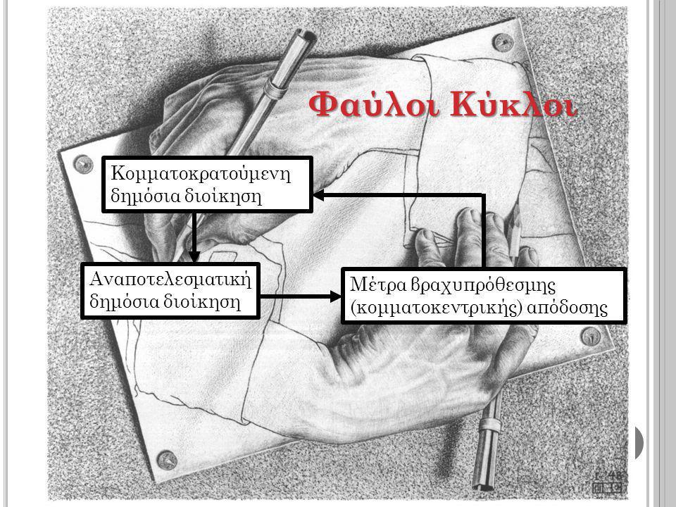 «[Τη φοροδιαφυγή] δημιουργεί η γερά ριζωμένη πεποίθηση του Έλληνα πως είναι θεμιτό να «κλέψει» ένα κράτος που «κλέβει»» Τ.