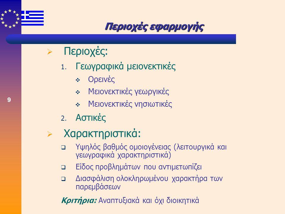 10 Διαδικασία αξιολόγησης/κριτήρια  Διαδικασία αξιολόγησης  1 η φάση: Προκαταρκτικός έλεγχος  2 η φάση: Συγκριτική αξιολόγηση με χρησιμοποίηση 6 ομάδων κριτηρίων  Κριτήρια αξιολόγησης 1.