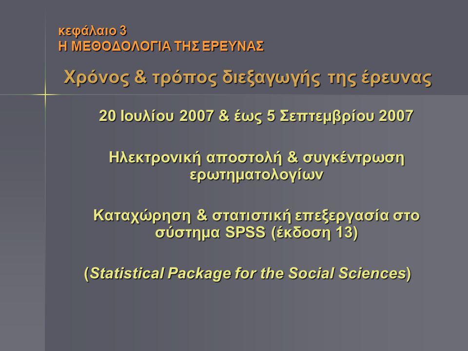 κεφάλαιο 3 Η ΜΕΘΟΔΟΛΟΓΙΑ ΤΗΣ ΕΡΕΥΝΑΣ Το ερωτηματολόγιο της έρευνας Πρότυπο & θεωρητική τεκμηρίωση του WebQual (καθιερωμένου ως αξιολογητικού ερωτηματολογίου που εφαρμόζεται ευρέως για την αξιολόγηση της ποιότητας ιστοτόπων)