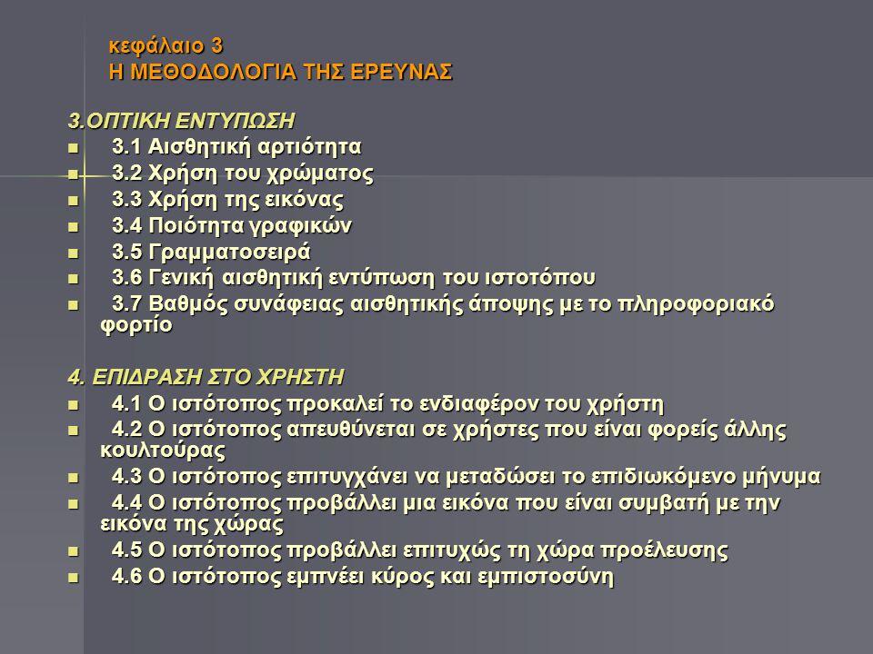 κεφάλαιο 3 Η ΜΕΘΟΔΟΛΟΓΙΑ ΤΗΣ ΕΡΕΥΝΑΣ 5.