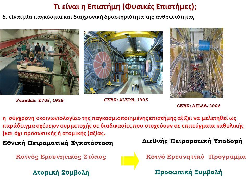 Τα βασικά χαρακτηριστικά της επιστημονικής διαδικασίας E.