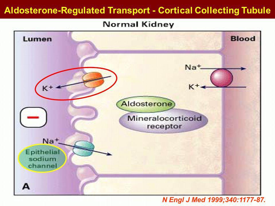 Amiloride Triamterene Spironolactone Eplerenone X X N Engl J Med 1999;340:1177-87.