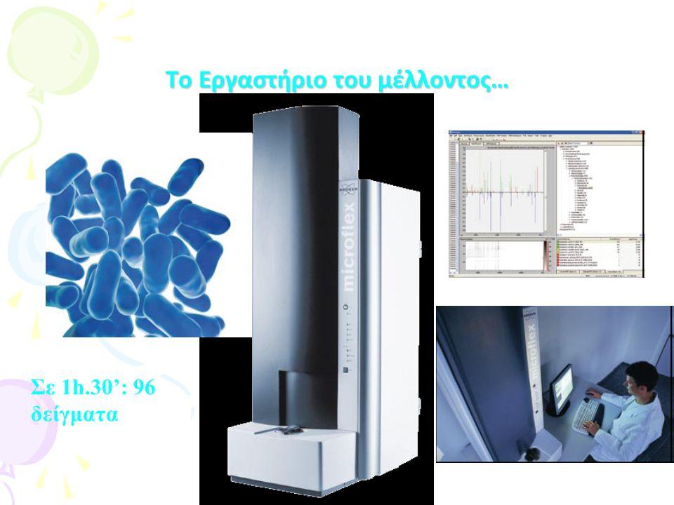 Blue-Carba Blue-Carba Απλή βιοχημική δοκιμασία για την ανίχνευση διαφόρων καρβαμενεμασών απευθείας από αποικίες Παρακολούθηση υδρόλυσης ιμιπενέμης μέσω απελευθέρωσης Η⁺ Ως δείκτης αλλαγής PH χρησιμοποιείται το μπλέ της βρωμοθυμόλης Ερμηνεία των αποτελεσμάτων σε 30΄ εως 2 ώρες Βασισμένη στο Carba NP ( Nordmann- Poirel)Carba