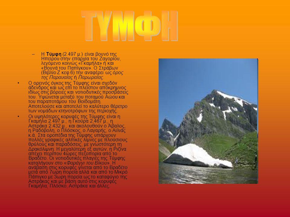 Ο Όλυμπος είναι το ψηλότερο βουνό της Ελλάδας γνωστό παγκοσμίως κυρίως για το μυθολογικό του πλαίσιο, καθώς στην κορυφή του (Μύτικας- 2.917 μ.) κατοικούσαν οι Δώδεκα «Ολύμπιοι» Θεοί σύμφωνα με τη θρησκεία των αρχαίων Ελλήνων.