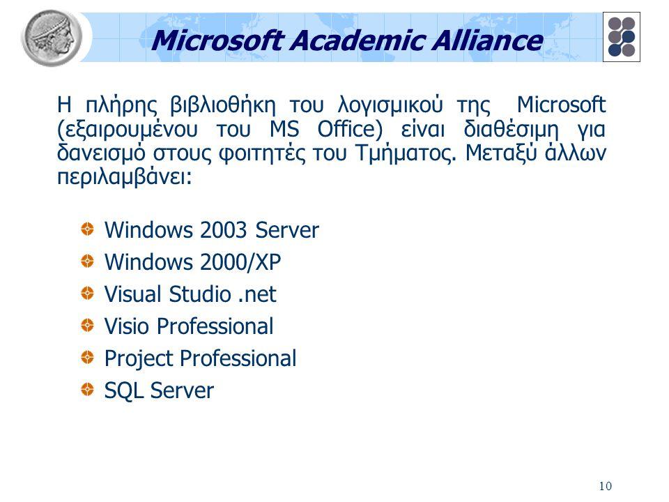 11 Προπαρασκευαστικά εργαστήρια Δίκτυο εργαστηρίου και εισαγωγή στα Microsoft Windows Διαχείριση οικιακού Η/Υ και εξοικείωση με το site του Τμήματος Xρήση Internet και ηλεκτρονικού ταχυδρομείου (E- mail) Βασικές εντολές DOS και UNIX Πριν από την έναρξη των μαθημάτων διεξάγονται προπαρασκευαστικά εργαστηριακά μαθήματα στα ακόλουθα θέματα: