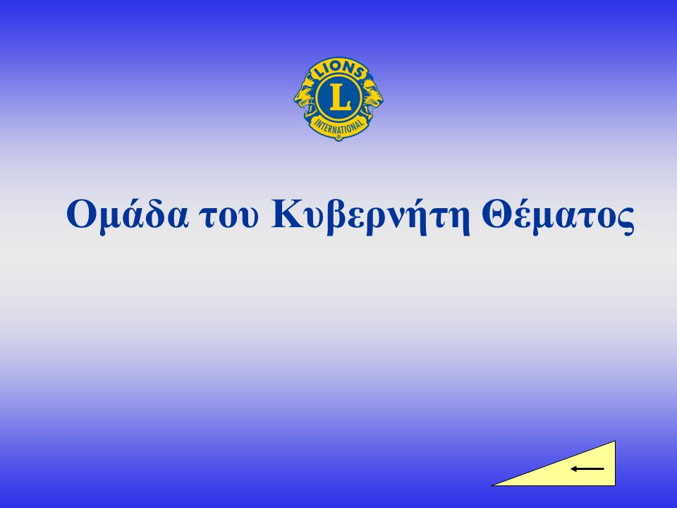 Ομάδα Κυβερνήτη Θέματος Κυβερνήτης Θέματος 1 ος Αντικυβερνήτης 2 ος Αντικυβερνήτης Επιπλέον, η ηγετική ομάδα του Θέματος περιλαμβάνει τους προέδρους περιοχής και ζώνης