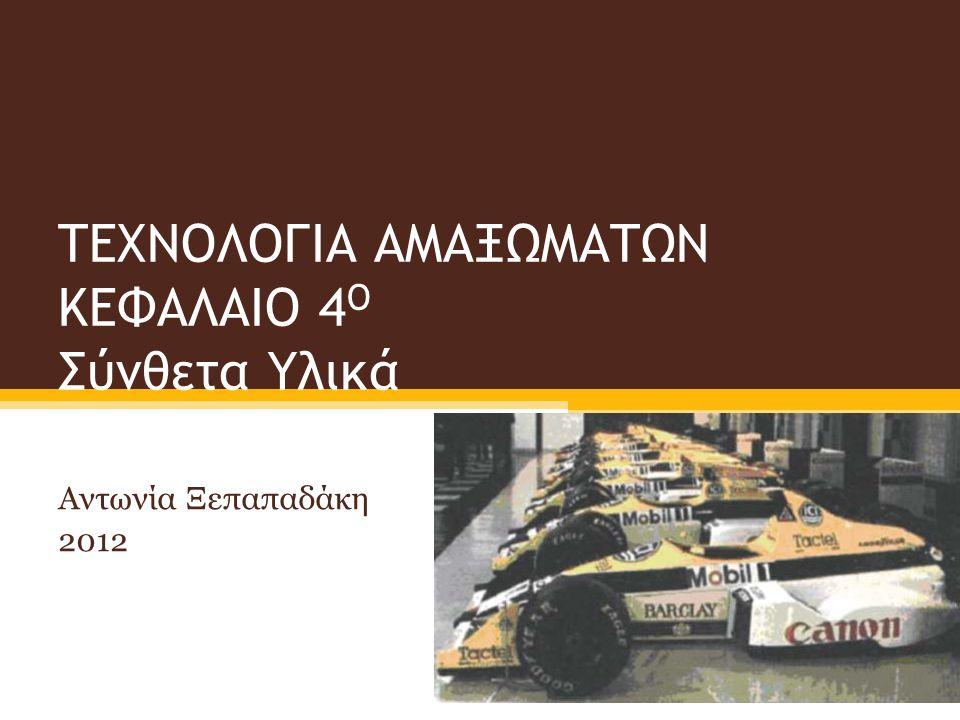 Περιεχόμενα Παρουσίασης Εισαγωγή στα σύνθετα υλικά Ιδιότητες των συνθέτων υλικών Ερωτήσεις Κατανόησης Ομαδική εργασία