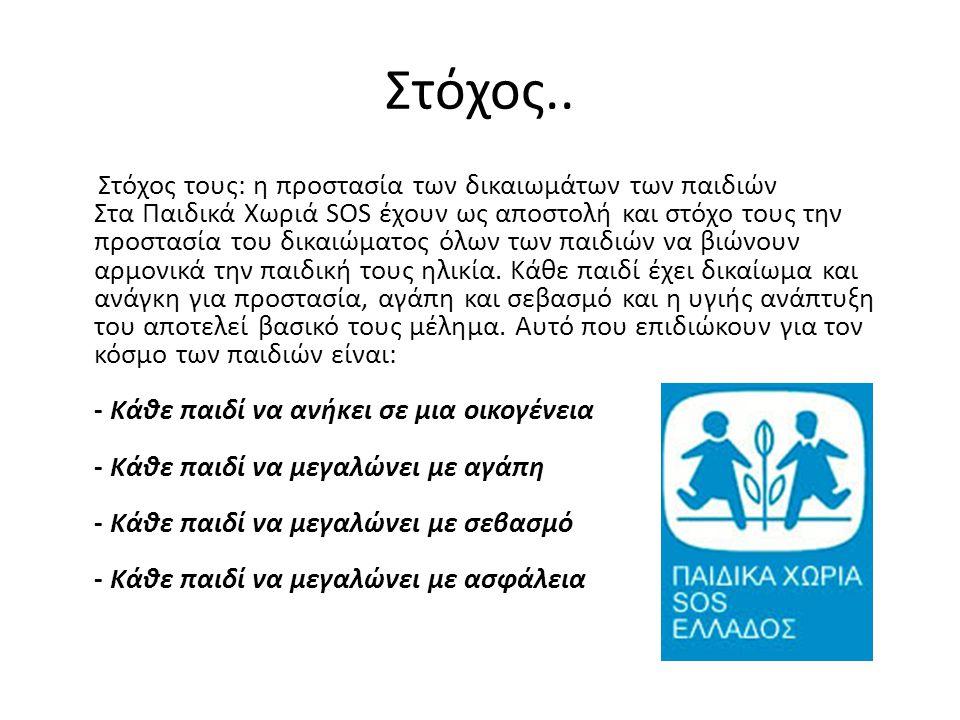 Συγκεκριμένα, στις οικογένειες των Παιδικών Χωριών SOS γίνονται δεκτά παιδιά: Ορφανά και από τους δύο γονείς.