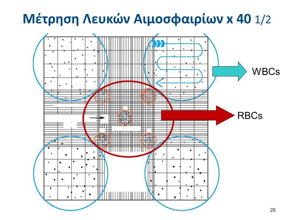 Μέτρηση Λευκών Αιμοσφαιρίων x 40 2/2 29 Neubauer improved with cells , από Alcibiades διαθέσιμο ως κοινό κτήμαNeubauer improved with cellsAlcibiades