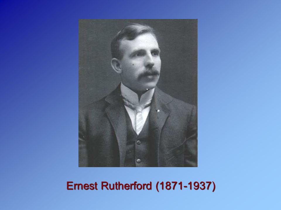 Το μοντέλο του ατόμου που πρότεινε ο Rutherford και οι μαθητές του