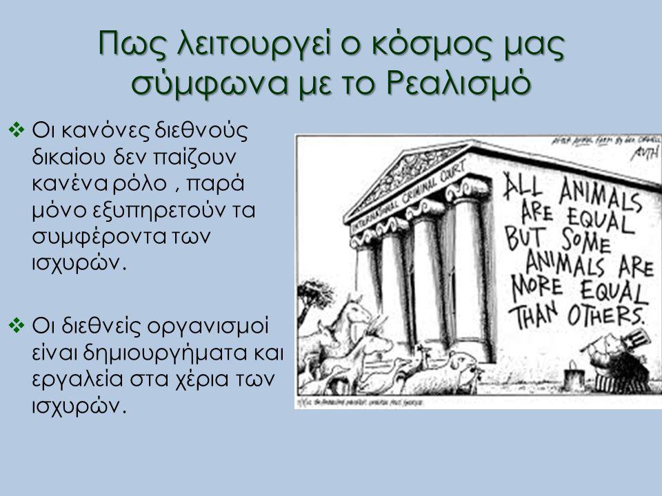 Βιβλιογραφία Κουσκουβέλης Ι.Η. (2005). Εισαγωγή στις Διεθνείς Σχέσεις.