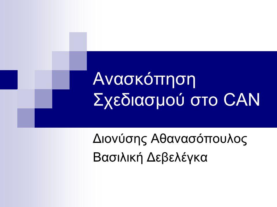 Θέματα Ανακεφαλαίωση παραμέτρων σχεδιασμού και μετρήσιμων χαρακτηριστικών απόδοσης.