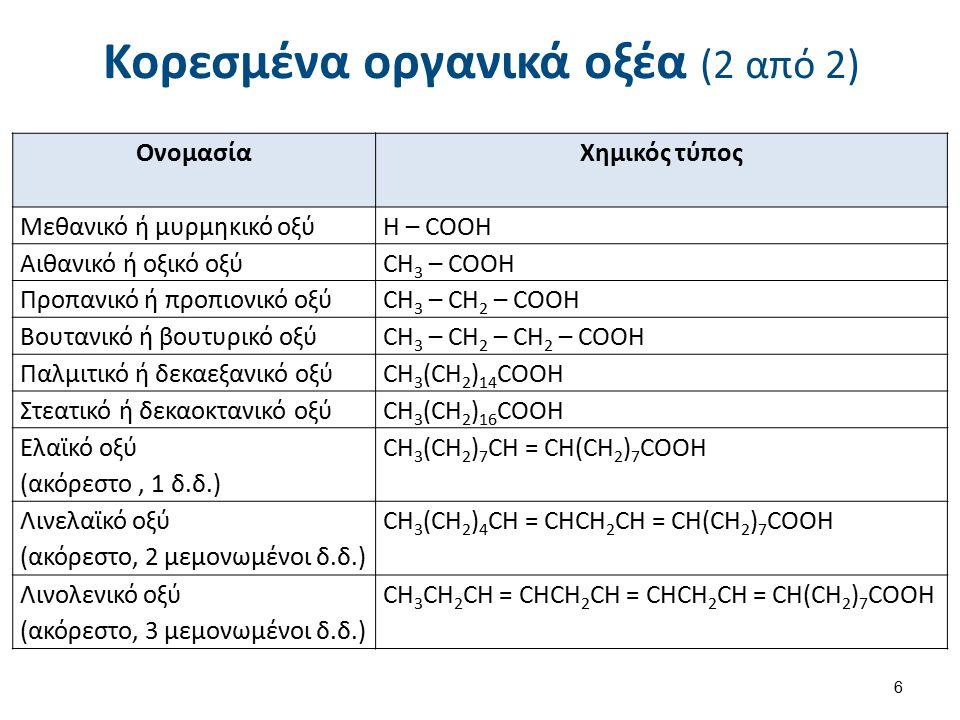 Αραβικό οξύ Για την Τεχνολογία των Γραφικών Τεχνών, ένα ιδιαίτερης σημασίας οξύ, είναι το αραβικό οξύ (arabic acid), που χρησιμοποιείται στη μέθοδο λιθογραφίας - offset.