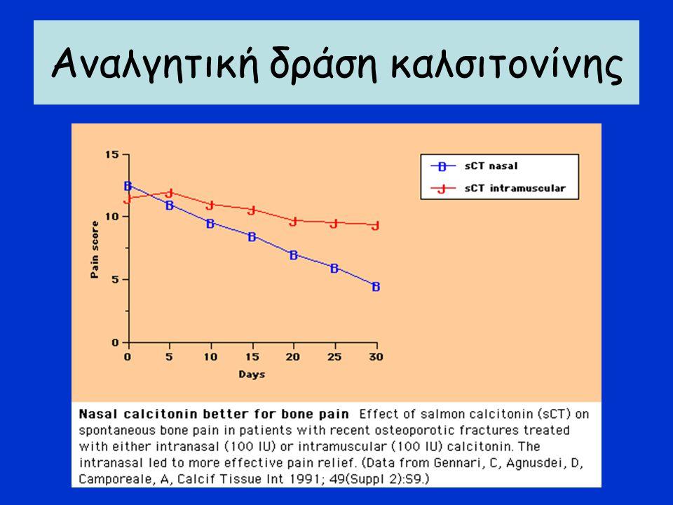 Ανθρώπινη παραθορμόνη (τεριπαρατίδη) -ενδείκνυται:σε βαρύτερες μορφές οστεοπόρωσης/ οστεοπορωτικά κατάγματα -αντενδείκνυται σε νόσο Paget,ανεξήγητη αύξηση της αλκαλικής φωσφατάσης, υπερασβεστιαιμία- υπερασβεστιουρία, οστεοπόρωση από πρωτοπαθή υπερπαραθυρεοειδισμό, οστεομαλάκυνση Στρόντιο: -οστεοπαραγωγικό φάρμακο με καλά αποτελέσματα στην αύξηση της οστικής πυκνότητας και στη μείωση των σπονδυλικών καταγμάτων και των καταγμάτων του ισχίου Οστεοπαραγωγικά φάρμακα