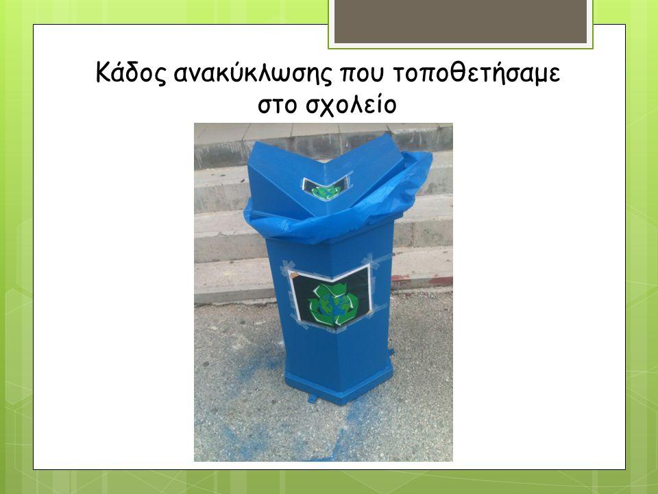 ΤΡΟΠΟΙ ΑΝΤΙΜΕΤΩΠΙΣΗΣ ΠΡΟΒΛΗΜΑΤΩΝ  Ανακύκλωση  Βιοδιάσπαση  Μείωση ειδών 1 χρήσης  Επαναχρησιμοποίηση υλικών
