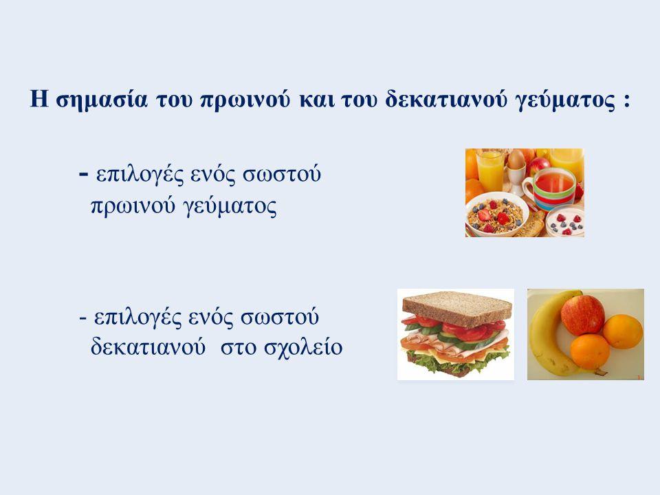 Ερωτηματολόγιο για τις διατροφικές συνήθειες των παιδιών: 1.