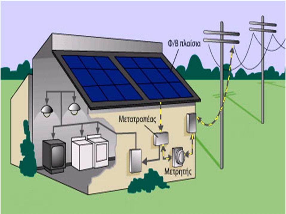 Υβριδικά Φωτοβολταϊκά συστήματα Συνδυάζουν ηλεκτρικό ρεύμα που προέρχεται από πετρελαιογεννήτριες, ανεμογεννήτριες, μικρές υδροηλεκτρικές γεννήτριες και Φωτοβολταϊκά συστήματα, ανάλογα με τις ενεργειακές ανάγκες που υπάρχουν, αξιοποιώντας τα γεωγραφικά πλεονεκτήματα της περιοχής.