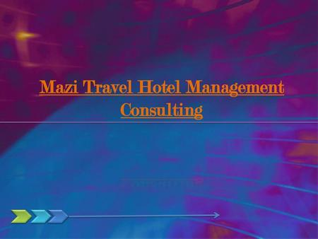 Mazi Travel Hotel Management Consulting