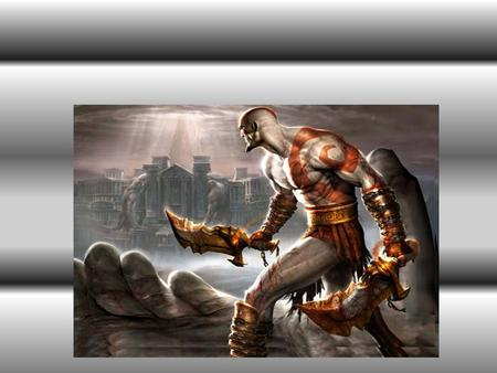 Play station game god of war