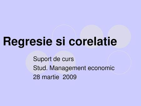 Suport de curs Stud. Management economic 28 martie 2009