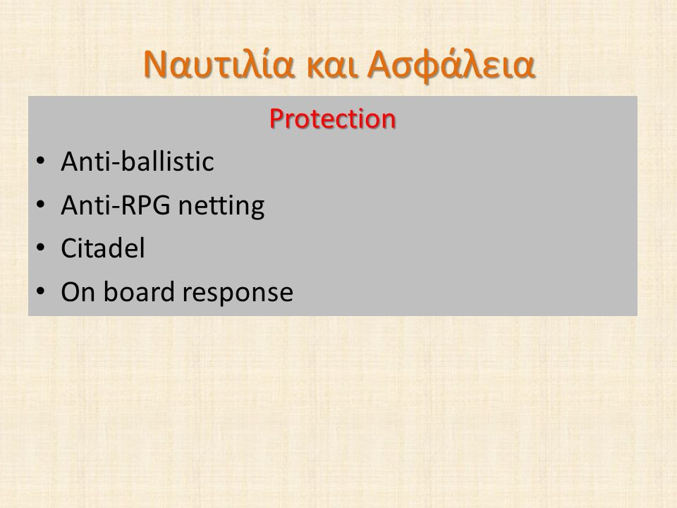 Ναυτιλία και Ασφάλεια Protection Anti-ballistic Anti-RPG netting