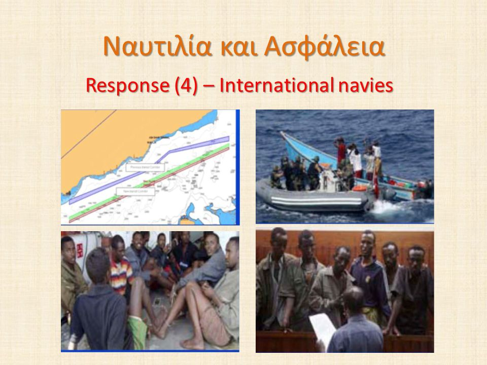 Response (4) – International navies