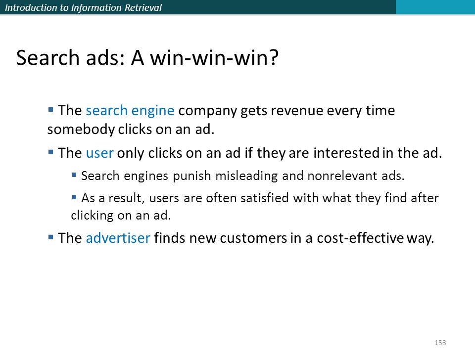 Search ads: A win-win-win
