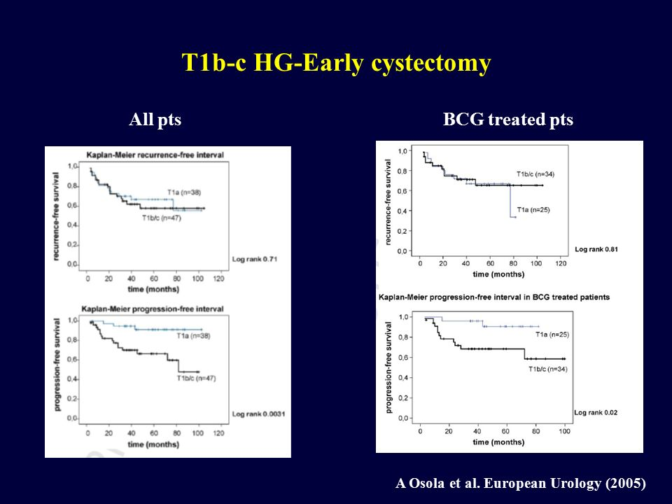 T1b-c HG-Early cystectomy