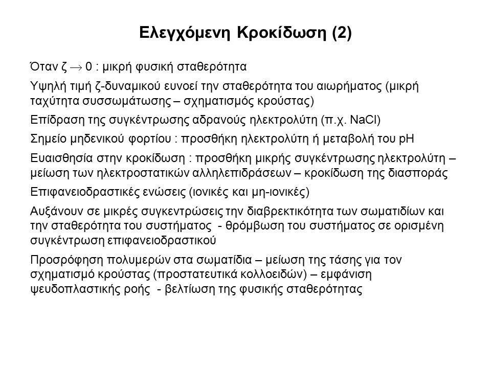 Ελεγχόμενη Κροκίδωση (2)