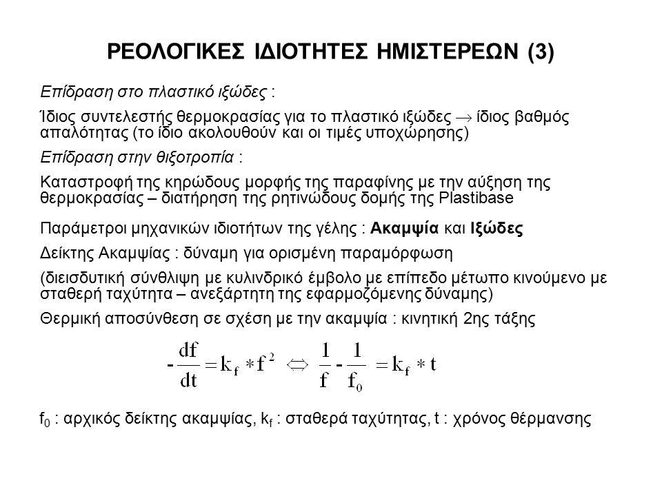 ΡΕΟΛΟΓΙΚΕΣ ΙΔΙΟΤΗΤΕΣ ΗΜΙΣΤΕΡΕΩΝ (3)