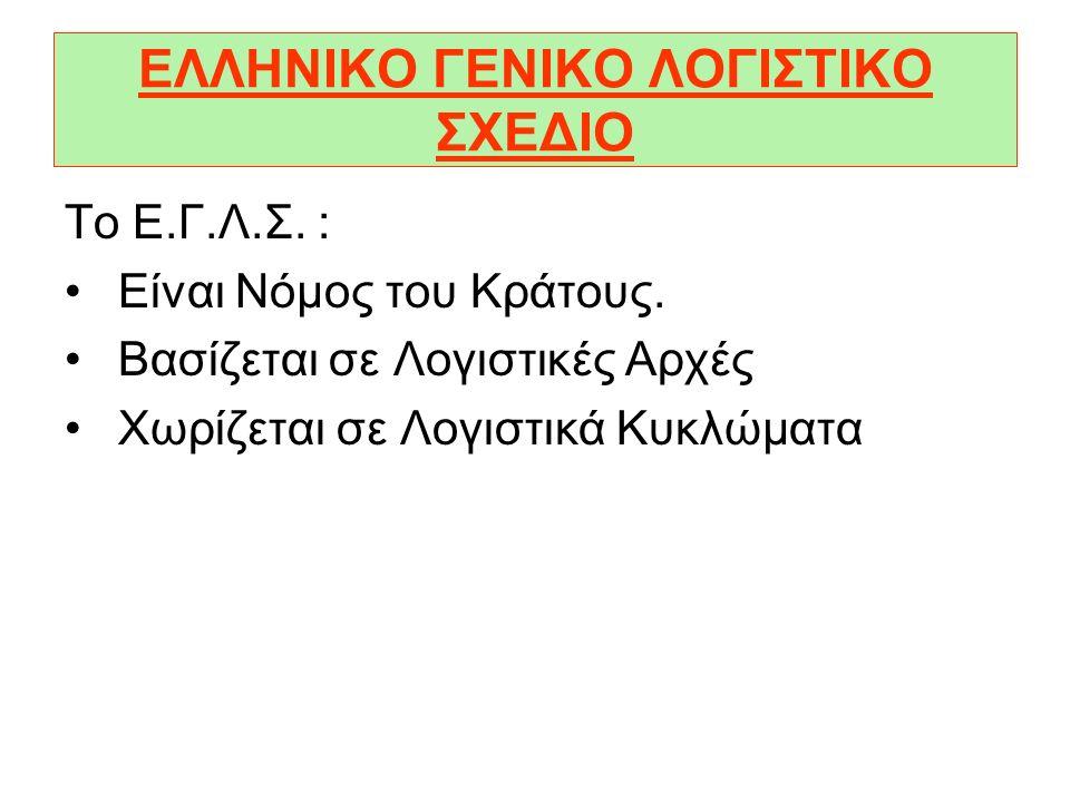 ΕΛΛΗΝΙΚΟ ΓΕΝΙΚΟ ΛΟΓΙΣΤΙΚΟ ΣΧΕΔΙΟ