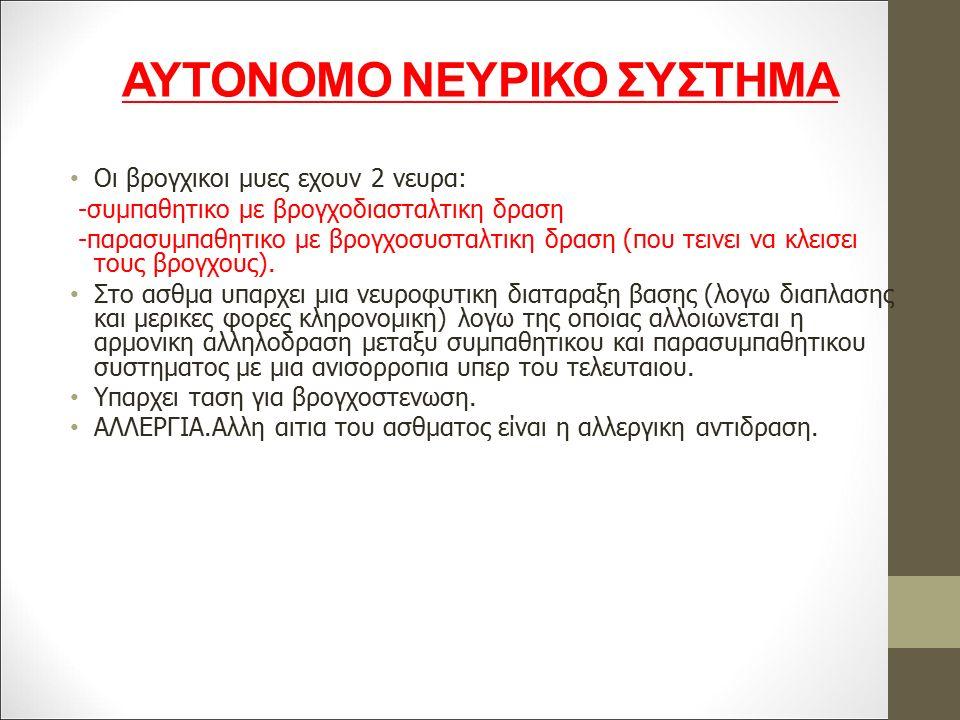 ΑΥΤΟΝΟΜΟ ΝΕΥΡΙΚΟ ΣΥΣΤΗΜΑ