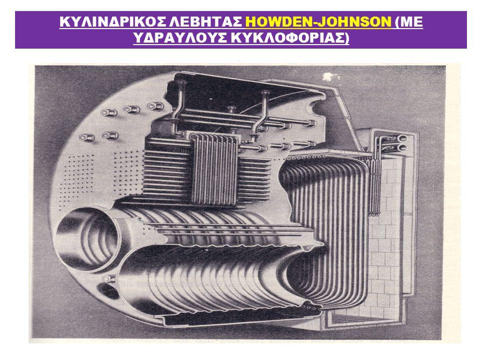 ΚΥΛΙΝΔΡΙΚΟΣ ΛΕΒΗΤΑΣ HOWDEN-JOHNSON (ΜΕ ΥΔΡΑΥΛΟΥΣ ΚΥΚΛΟΦΟΡΙΑΣ)