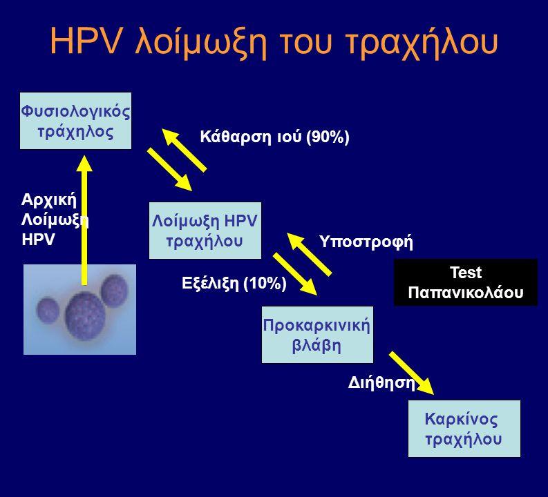 ΗPV λοίμωξη του τραχήλου