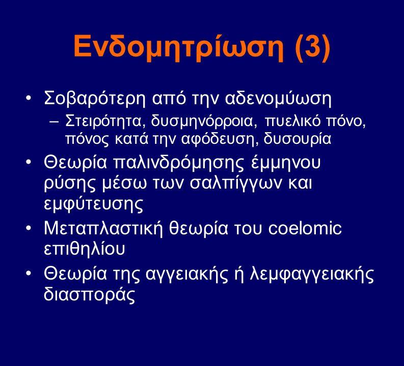 Ενδομητρίωση (3) Σοβαρότερη από την αδενομύωση