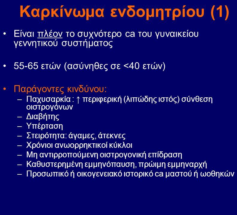 Καρκίνωμα ενδομητρίου (1)