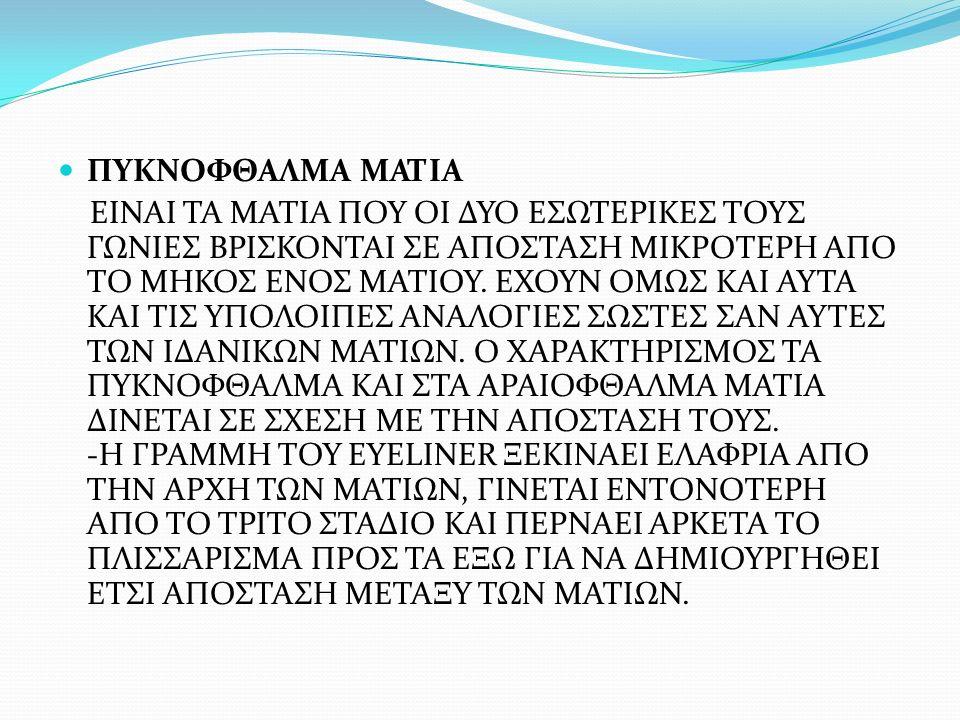 ΠΥΚΝΟΦΘΑΛΜΑ ΜΑΤΙΑ