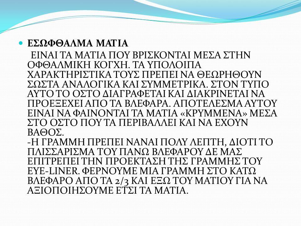 ΕΣΩΦΘΑΛΜΑ ΜΑΤΙΑ