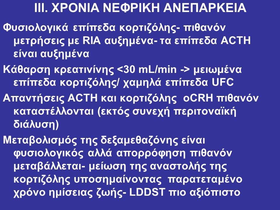 ΙΙΙ. ΧΡΟΝΙΑ ΝΕΦΡΙΚΗ ΑΝΕΠΑΡΚΕΙΑ