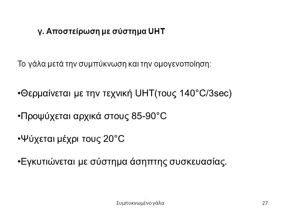 Θερμαίνεται με την τεχνική UHT(τους 140°C/3sec)