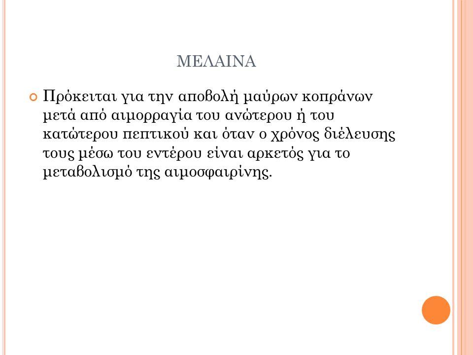 μελαινα