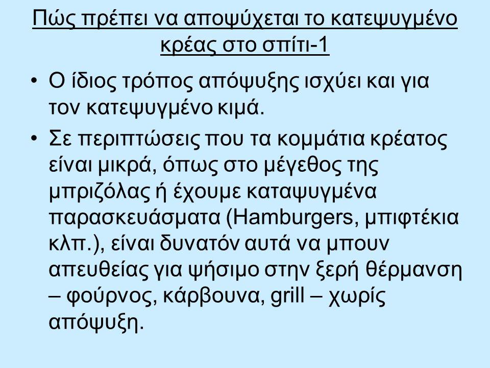 Πώς πρέπει να αποψύχεται το κατεψυγμένο κρέας στο σπίτι-1