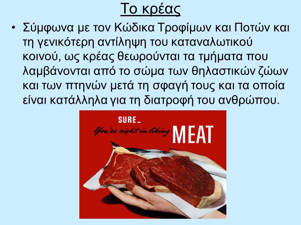 Το κρέας