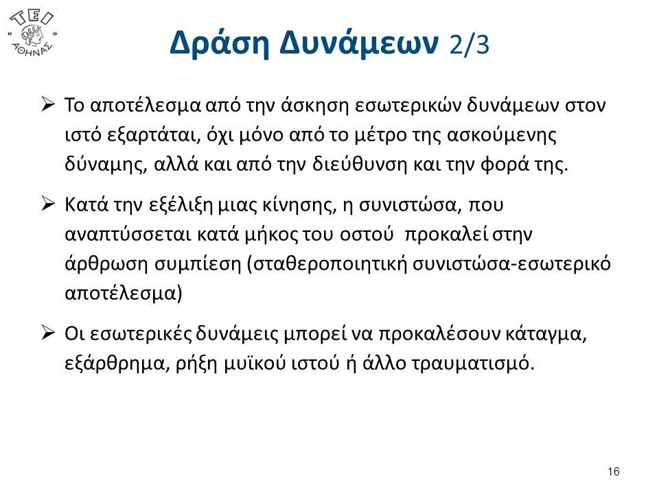 Δράση Δυνάμεων 3/3