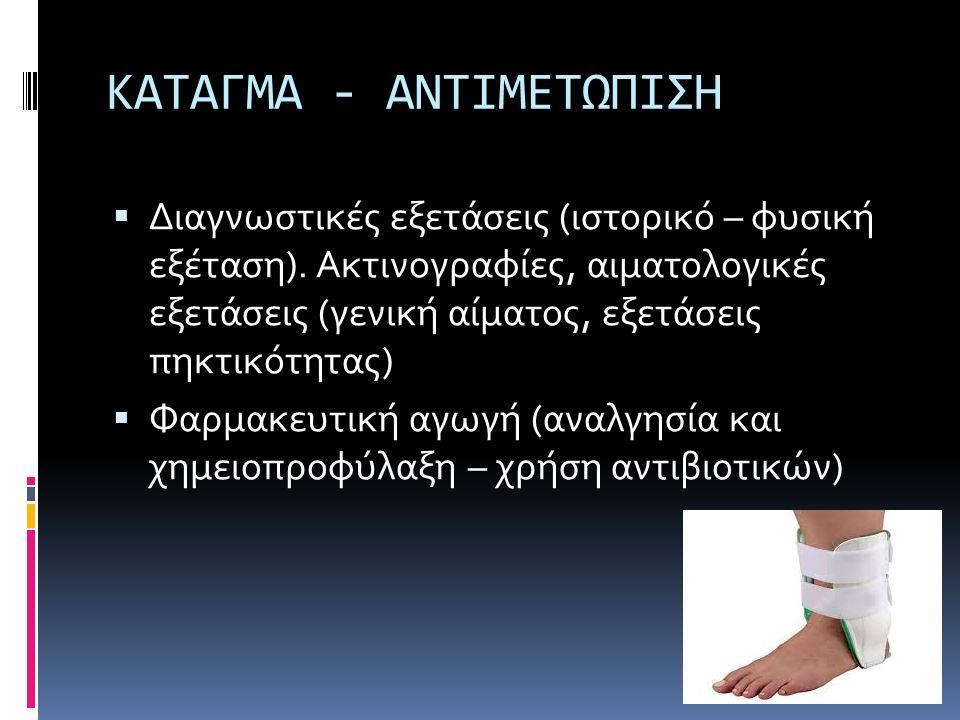 ΚΑΤΑΓΜΑ - ΑΝΤΙΜΕΤΩΠΙΣΗ